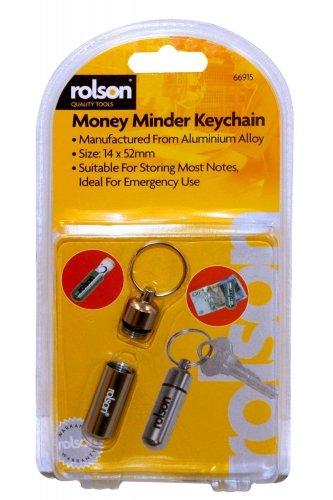 Rolson Money Minder with Key Chain £1 add on item @ Amazon
