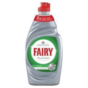 Fairy Platinum Washing Up Liquid 383ml £1.50 or 2 for £1.40 with MyPick @ Waitrose