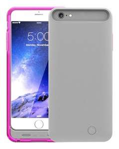 Mota 4,000mAh Extended Battery Case for iPhone 6 Plus - Pink £13.23 @ Amazon (3.99 del for non-prime)