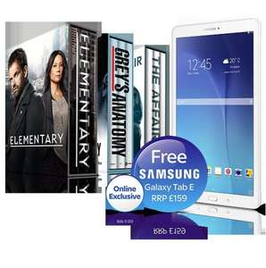 SKY Free Samsung (No Heat Added) Galaxy Tablet with £6 upgrade @ Sky