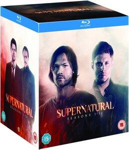 Supernatural season 1-10 blu ray for £59.99 at Zavvi (season 1 -10 DVD for £52.99)