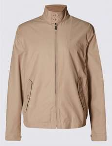Cotton Rich Harrington with Stormwear™ was £49.00 now £17.99 @ M & S (Click and Collect available)