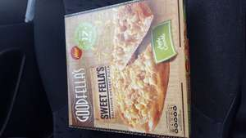 Goodfella's Apple Crumble dessert pizza 65p - Sainsbury's