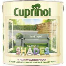Cuprinol Garden Shades £2 for 2.5Lt and £1 for 1Lt in Belle Vale Wilko.