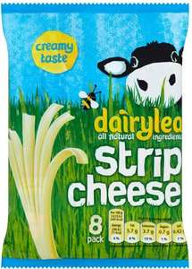 Dairylea Strip Cheese (8 x 21g) was £2.50 now 2 packs of 8 for the price of 1 @ Ocado