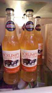 Westons Scrumpy Cloudy cider 7.5% reduced to 89p 500ml @ Aldi