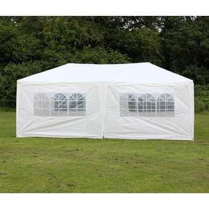 Palm Springs 10' x 20' Wedding / Party Tent Marquee with Sides - New.  £4.99 + Free Del from The Sports HQ @ Amazon
