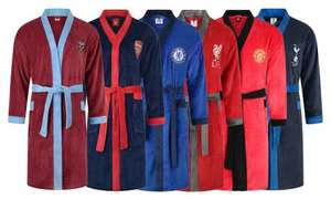 Mens football dressing gown £16.98 delivered @ Groupon
