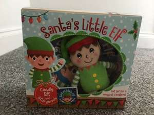 Santas little Elf on a shelf only £4 @ Asda
