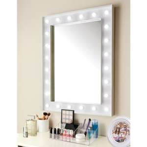 60 x 80cm LED Hollywood Mirror (Battery Powered) In Store £29.99 @ B&M