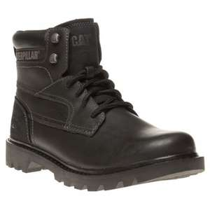 CATERPILLAR BRIDGEPORT BOOTS BLACK £44.99 - Soletrader outlet, free delivery and returns