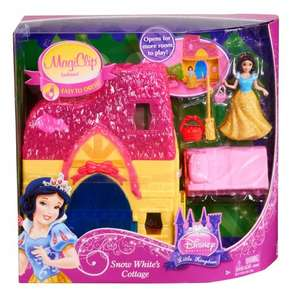 Disney Princess MagiClip Playset: Snow White's Cottage £13 (Matalan Instore)
