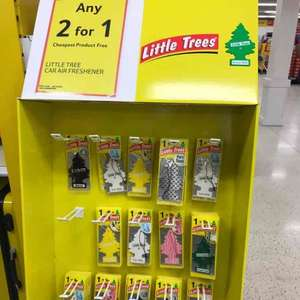 little Tree Car air-freshener 2 for 1 £1.50 at Tesco