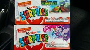 £1 Kinder SURPRISE eggs pack of 3 Poundland