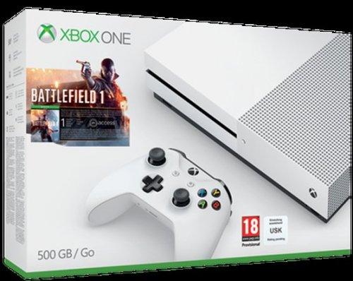 Xbox One S Console (500GB) Battlefield 1 Bundle £239.85 Delivered @ Shopto