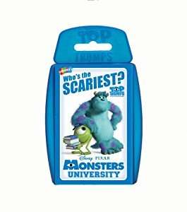 Top Trumps - Monsters University £1.34 delivered using code FAMILYFUN2016 @ Winning Moves