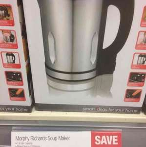Morphy Richards soup maker £35 @ Co-operative - Porthcawl