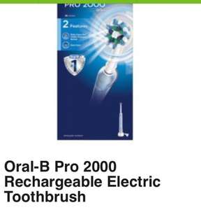 Oral-b electric toothbrush now £25! Was £70 Asda