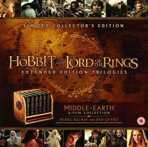 Poss Glitch: 30 DISC VERSION, All Hobbit and LOTR, Middle Earth - Six Film [Blu-ray] [2016] Showing as £31.99 @ Amazon UK