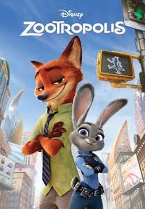 Zootropolis £0.99 Rental HD @ Google Play