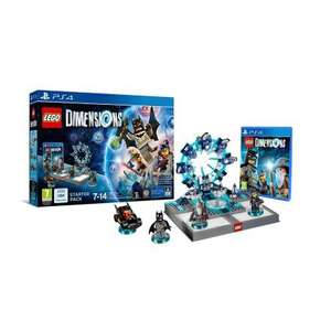 Lego Dimensions Starter Pack PS4, PS3, Xbox One, 360, Wii U. Was £69.99, now £29.99 @ Smyths Toys!