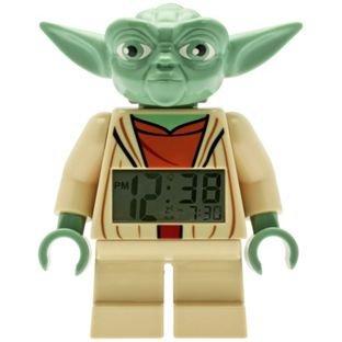 LEGO Star Wars Yoda Figure Alarm Clock – was £19.99 now £11.99 @ Argos