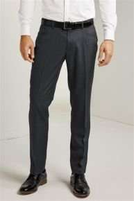 Charcoal Textured Styled Trousers, £7 next clearance sale was £28