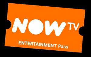 £10.50 cashback on a NOW TV Entertainment Month Pass @ £6.99 via topcashback