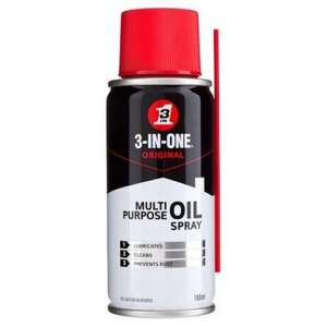 3-IN-ONE multi-purpose oil (spray version!) at Poundland - £1