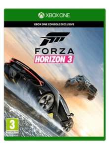 Forza horizon 3 trade in value £34.50 @ game