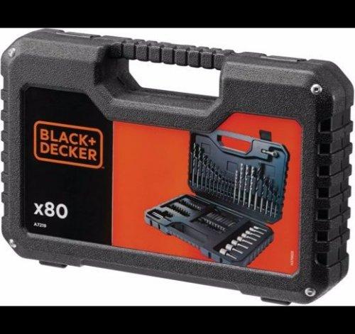 Black and Decker 80 pc drill bit and screwdriver set £12.99 @ Homebase
