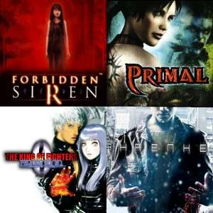 4 PS4 (PS2) games on sale FAHRENHEIT £6.49 / THE KING OF FIGHTERS 2000  £3.99 / Forbidden Siren £4.99 / Primal £4.99