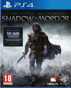 Shadow of Mordor (used) PS4 £8.69 musicmagpie