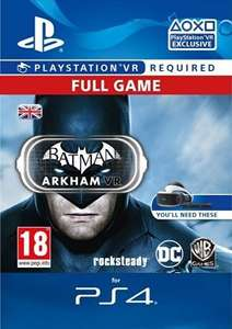 [PS4] Batman Arkham VR - £13.29 - CDKeys (5% Discount)