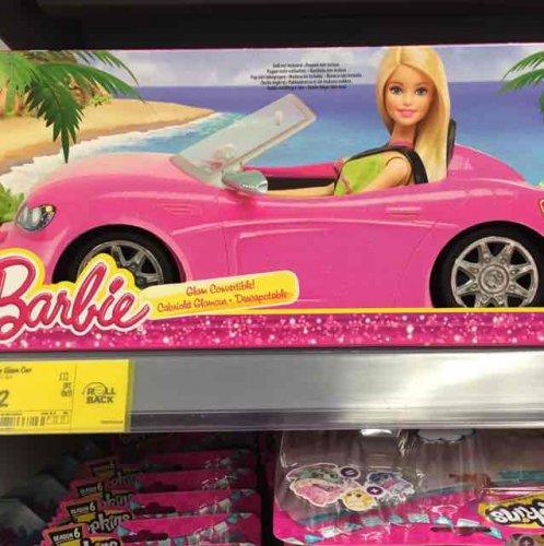 barbie glam convertible £12 at Asda