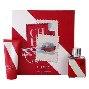 Carolina Herrera CH Men Sport gift set £12.50 @ Tesco Ebay
