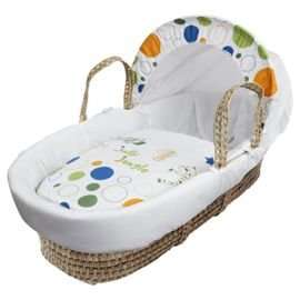 Kinder Valley Jolly Jungle Moses Basket £16.87 @ Tesco instore (free click and collect or add £3.00 for delivery)