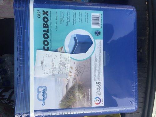 Cool Box  £3.00 Tesco Dalgety Bay