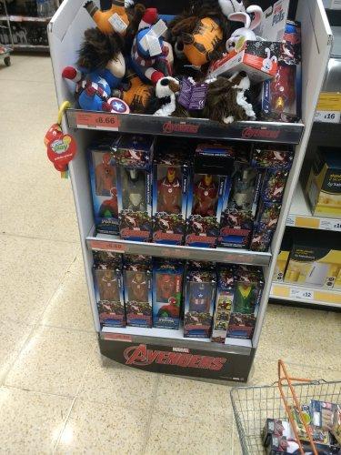 Marvel figures £6.50 @ Sainsbury's bamber bridge