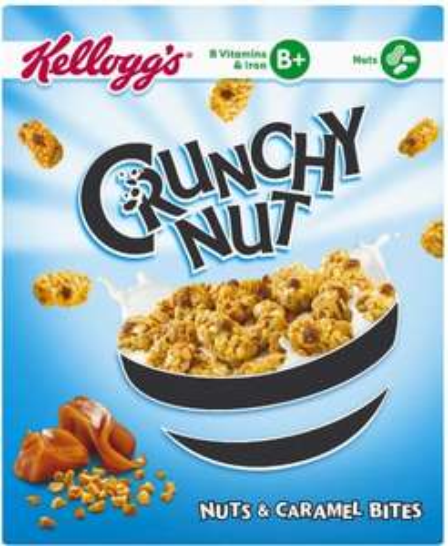 Kellogg's Crunchy Nut Bites Nuts & Caramel (360g) was £2.79 now 3 for £3.00 @ Ocado