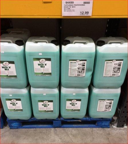 25 litre Professional Turtle Wax Wash & Wax £15.58 @ Costco