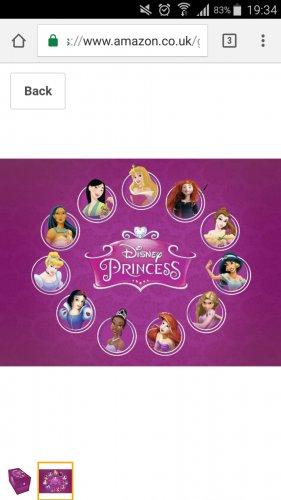 Disney Princess keepsake 11 dvd box set cheapest according to camel £29.87 @ Amazon