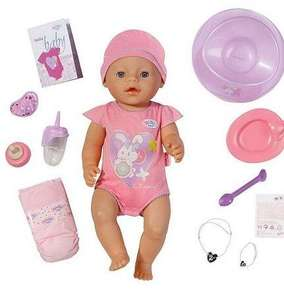 Baby Born Interactive Doll (was £42.49) @ Tesco £22 (free C&C)