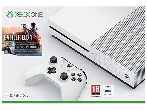 Xbox One S 500GB Console with Battlefield 1 £229.99 @ Zavvi