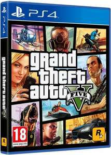 GTA 5 PS4 (Brand New) - £29.99 @ Argos eBay free c&c