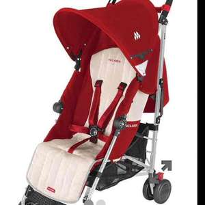 Maclaren Quest Sport buggy - scarlet/wheat colour only - £90 at Mothercare + free delivery