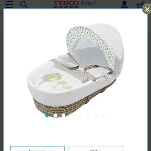 Kinder Valley Three Little Birds Moses Basket £12.65 in TESCO
