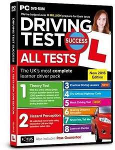 Driving Test Success All Tests NEW 2016 Edition (PC) £4 Delivered @ Tesco Direct (Amazon w/ Prime)