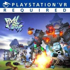 Pixel Gear VR Game for Playstation VR £7.19 20% off for PSN Accounts Normal price £8.99