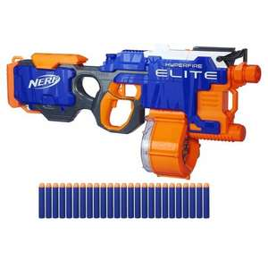 Nerf N-Strike Elite Hyperfire Value Pack - £29.99 was £53.99 smythstoys